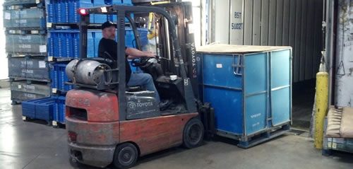 Flatbed and Dry Van Freight Services | Warehousing - BST